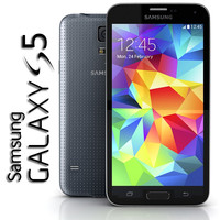 samsung galaxy s5 3d model