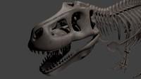 3d model tyranosaurus rex