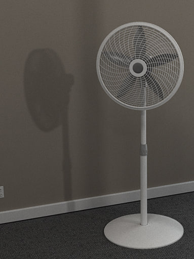 Floor oscillating fan