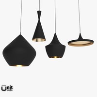 Beat Light 4 pieces set by Tom Dixon