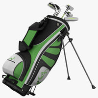 maya woodworm golf set