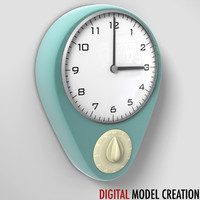 obj kitchen wall clock