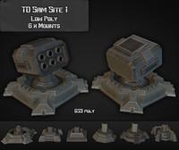 3d td sam site 01 model