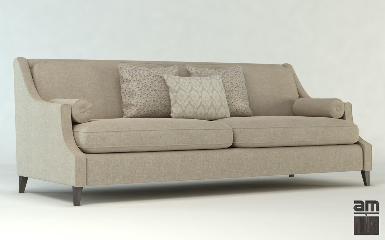 Sofa upholstery furniture 3d obj for Sofa 3d model