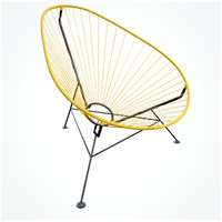 3d hd acapulco chair