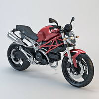3ds max ducati monster 696