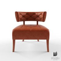 brabbu armchair 3d model