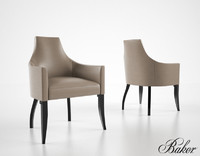 3d baker kalisto dining chair model