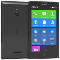 nokia xl black 3d max