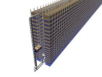 3d model of mini load asrs