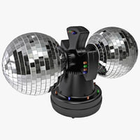 creative motion twin mirror ball 3d 3ds