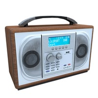 3d model dab digital radio