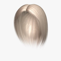 3d elizabeth hair model