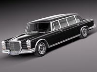 3d model of mercedes mercedes-benz 1981
