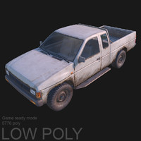 Pickup low poly