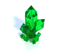 3ds max crystal