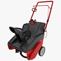 single stage snow blower max