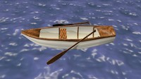 row boat 3d 3ds