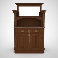 Art Nouveau Cabinet
