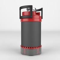 3d model pump realistic