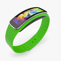Samsung Gear Fit Green