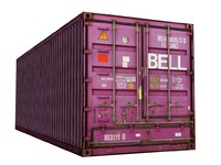 cargo container 3d max