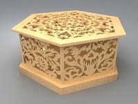 maya wooden box