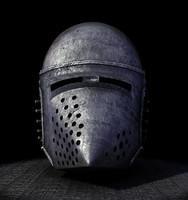 3ds max medieval hundsgugel helm