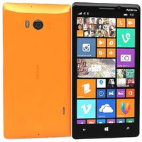 nokia lumia 930 orange c4d
