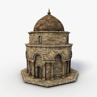 3d mosque games model