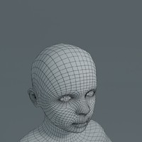 girl basemesh 3d model