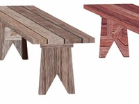 free max mode wooden benches