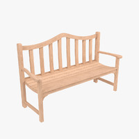 bench chair 3d max
