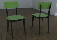 chair basel jasper 3d max