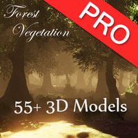 3d vegetation trees plants