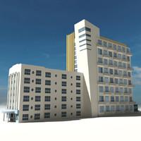 3d model beach building 04