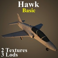 british aerospace hawk basic 3d max