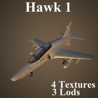 max hawk1 air low-poly