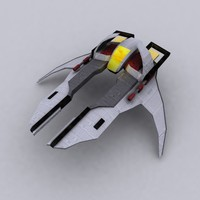 3d model starfighter fi star