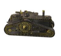 steampunk tank 3d c4d