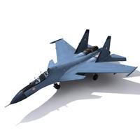3d max indian jet plan