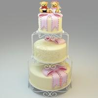 3d wedding cake 06 model