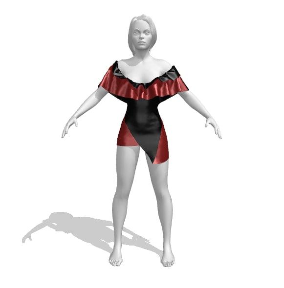 Jennifer Leather dress