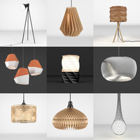 lamps light 3d max