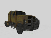 pickup truck obj