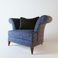 chair christopher guy 3d model