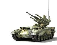 maya object 199 frame russian tank