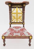3d furniture classic rococo