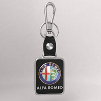 3d realistic alfaromeo car key model