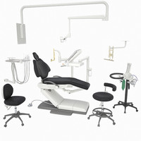 a-dec 500 dental equipment 3d max